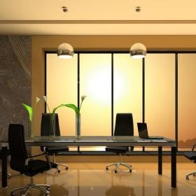 公司会议室设计效果图欣赏效果图