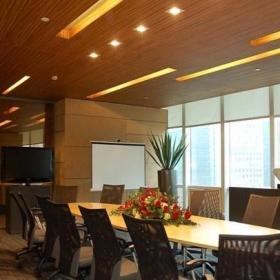 最新公司會議室布置效果圖