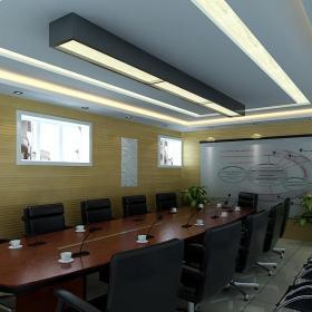 現代辦公會議室吊頂設計欣賞效果圖大全