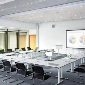 30平米會議室設計案例效果圖