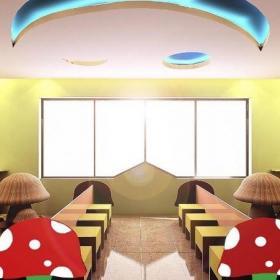 幼兒園室內窗戶裝飾圖片效果圖