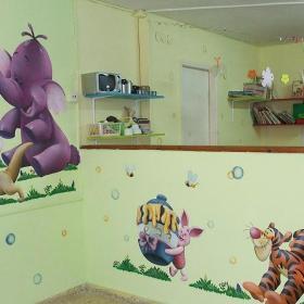 幼儿园墙壁画效果图