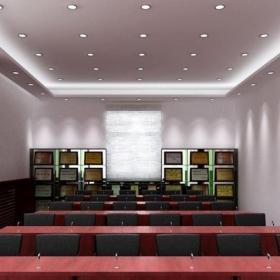 公司会议室装饰设计效果图片效果图