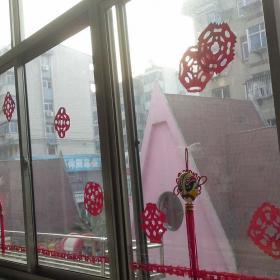幼兒園窗戶裝飾布置圖片效果圖