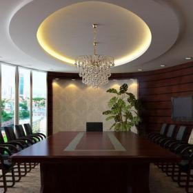 辦公室綠化會議室圖片效果圖