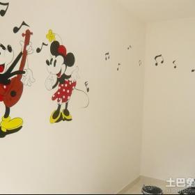 幼儿园壁画图案效果图