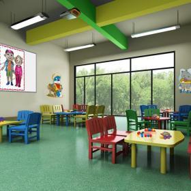 幼兒園室內手繪設計效果圖