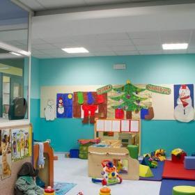 幼儿园室内装饰房间实景图效果图