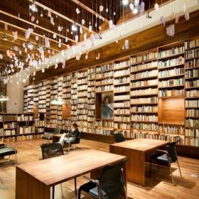 免费图书馆效果图