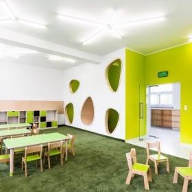 高档幼儿园环境布置房间图片效果图