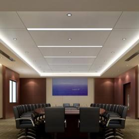 公司會議室裝修效果圖片欣賞效果圖