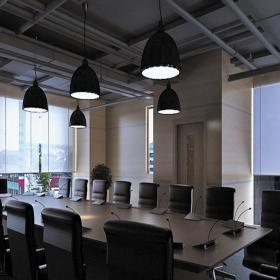 辦公室會議室平面設計圖效果圖