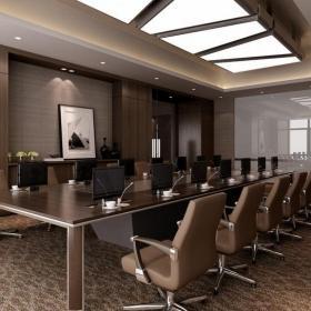 现代公司会议室设计效果图