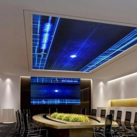 10平米多媒體會議室效果圖