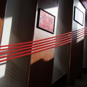 消防队二队荣誉室、会议室、音乐室、走廊改造效果图