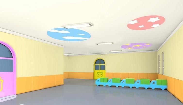 现代幼儿园室内装饰设计效果图欣赏效果图