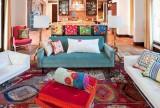 多色系特色客厅搭配效果图大全