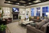 客厅有梁吊顶设计效果图云集