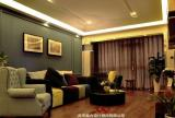 贵阳世纪城混搭风格最新客厅装修效果图