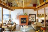 混搭大戶型沙發躍層客廳空間家裝效果圖