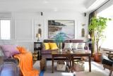 中西混搭风格客厅设计图片欣赏装修效果图