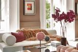 大户型沙发120㎡有品位的艺术客厅设计效果图大全