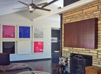 混搭风格客厅一层别墅艺术家具16平米客厅设计图纸效果图