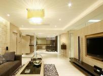 简约风格大气米色豪华型客厅沙发效果图