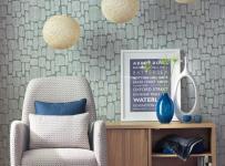 家居收纳灯饰单身公寓沙发客厅背景墙简约用收纳柜留住家庭的温暖效果图