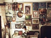 古典咖啡色另類客廳裝修效果圖片