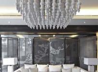混搭风格别墅豪华型客厅沙发效果图