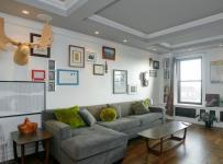 美式客厅沙发照片墙装修设计效果图欣赏