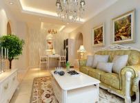 歐式風格客廳吊頂裝修效果圖,歐式風格沙發圖片