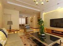 欧式简欧风格三居室客厅电视背景墙效果图简欧风格吊顶图片