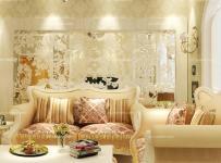 欧式客厅黄色唯美视觉系的艺术空间效果图欣赏