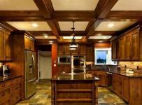 现代简约风格客厅300平别墅原木色家居露台阳光房中式电视背景墙设计图效果图