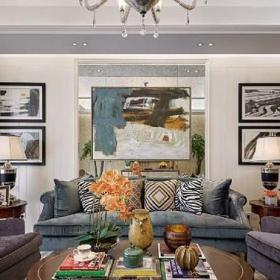 客厅电视背景墙客厅沙发客厅的装修效果图