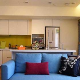 130平米混搭風格三居室混搭客廳設計效果圖