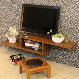 客廳背景墻創意生活用品實木家具別出心裁的電視柜設計效果圖