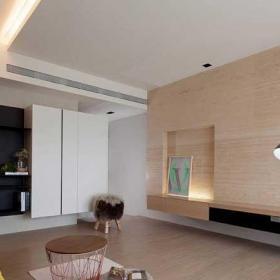 120平米混搭風格四房混搭客廳設計效果圖