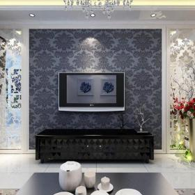 电视背景墙2013最新现代简约装修客厅电视墙效果图
