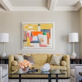 精美客厅装饰画效果图