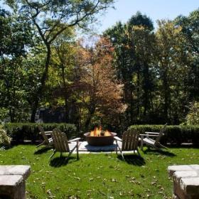 欧式风格客厅200平米别墅唯美别墅花园装潢效果图