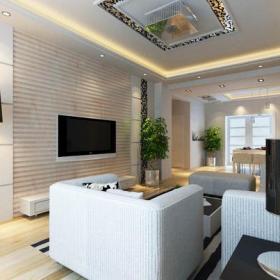 客廳背景墻簡約電視背景墻客廳效果圖