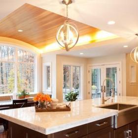 新古典风格单身公寓厨房古典客厅2平米厨房装潢效果图