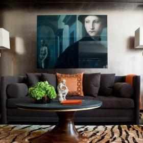 家庭客厅装饰画效果图