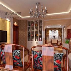 新中式风格客厅电视背景墙装修效果图新中式风格客厅沙发图片