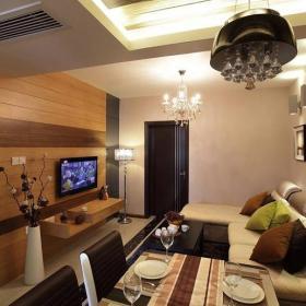 现代风格客厅电视墙设计图欣赏效果图