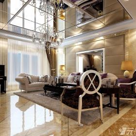 歐式客廳設計圖片 - 元洲裝飾效果圖