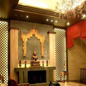 客厅室内东南亚家居饰品装饰图片效果图
